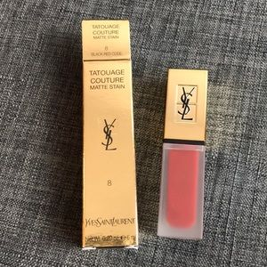 YSL BLACK CODE RED 8 TATOUAGE COUTURE MATTE STAIN